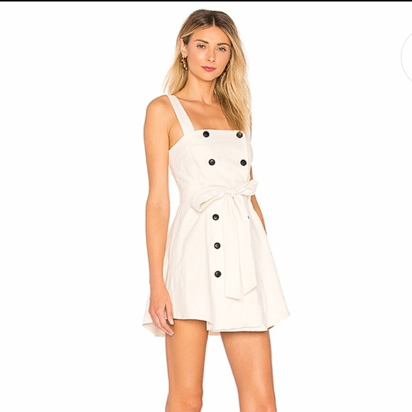 Lovers + Friends Dresses & Skirts - Lovers + Friends XRevolve NWT Rosanna Dress Ivory